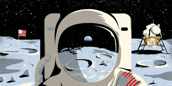 Луна, высадка на Луну,