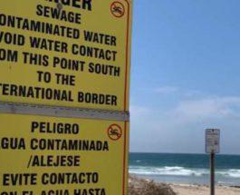 Мексика, пляж, фекалии, сброс,