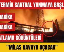 Милиас, Турция, лесные пожары, Кемерская ТЭС,