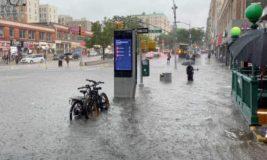 Нью-Йорк, наводнение,