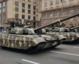 Оплот, танк, Украина, Киев, парад,