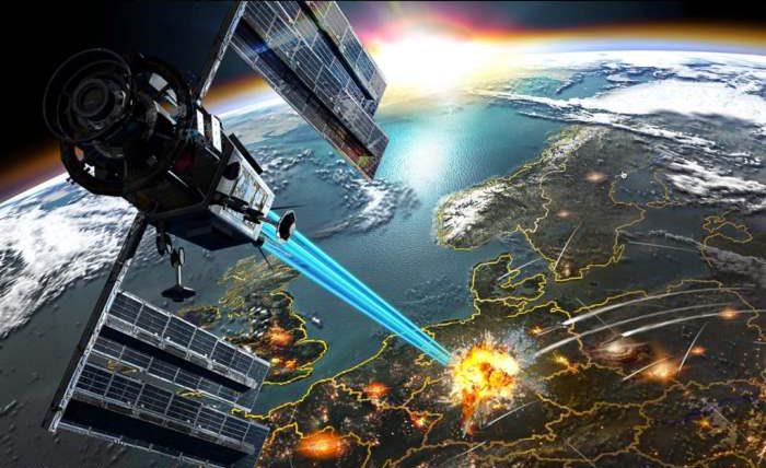 Пентагон, США, космическое оружие,