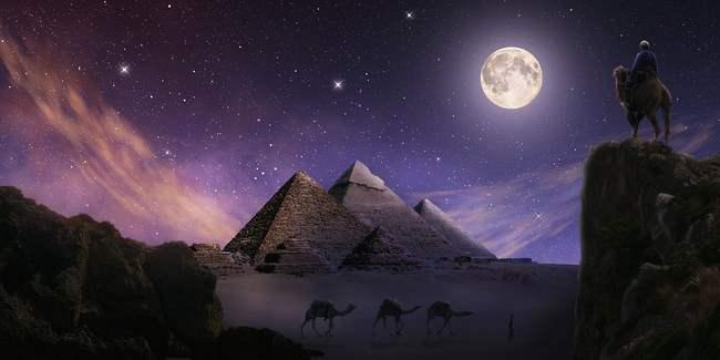 Пирамиды Гизы, факты,