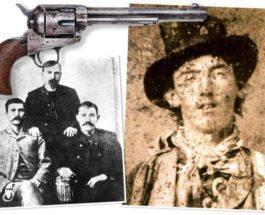 Пэт Гарретт, Билли Кид, револьвер,