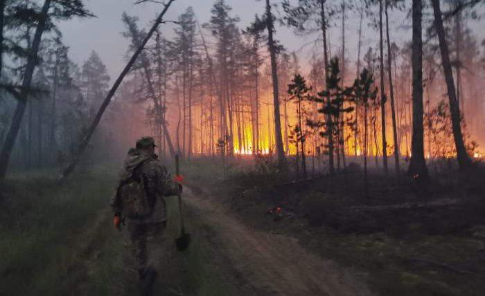 Россия, ЧП, пожары, Якутия,