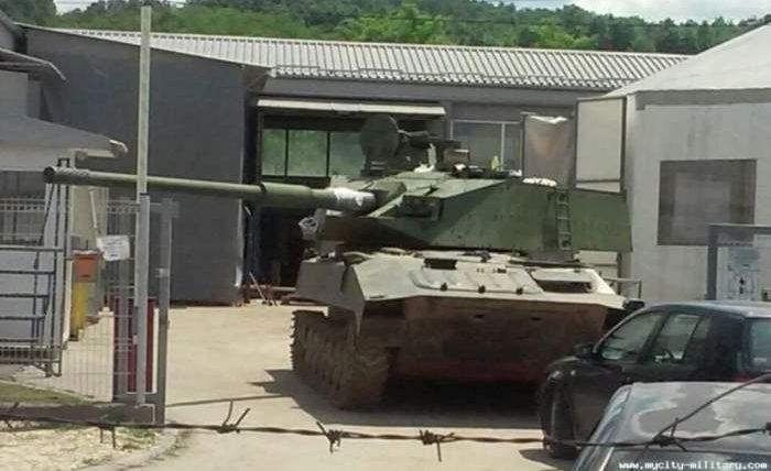 Сербия, танк, новый танк,