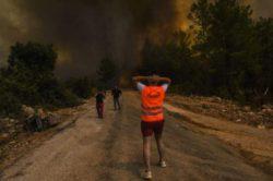 Туристы бегут с горящих курортов Турции: такой катастрофы мы еще не видели