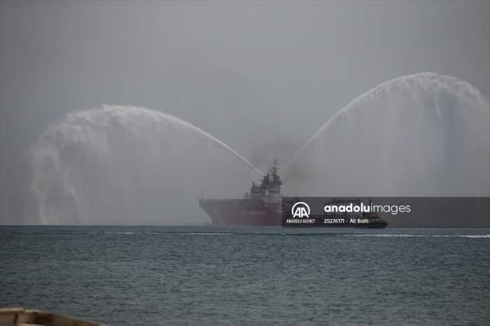 Турция, пожары, Нене Хатун, судно,