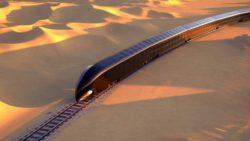 Представлен цельностеклянный концепт умного поезда: это «дворец на рельсах» (фото)