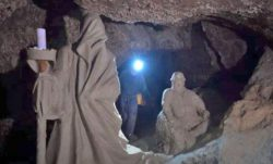 В украинской пещере обнаружены мифические скульптуры