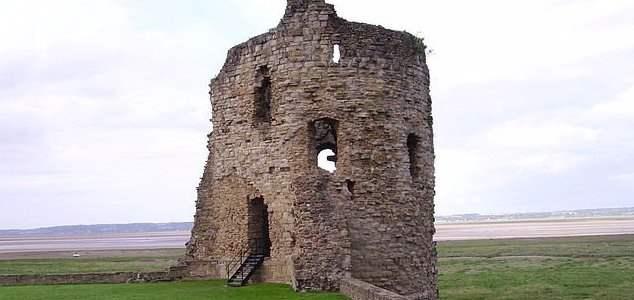 Флинт, призрак, замок,