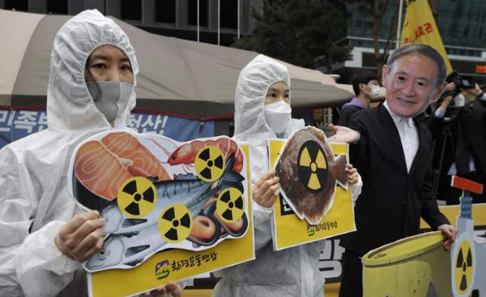 Фукусима, Япония, радиоактивная вода,