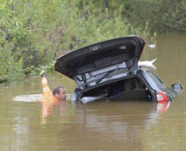 Швеция, наводнение,
