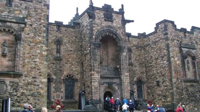 Эдинбургский замок, захват,