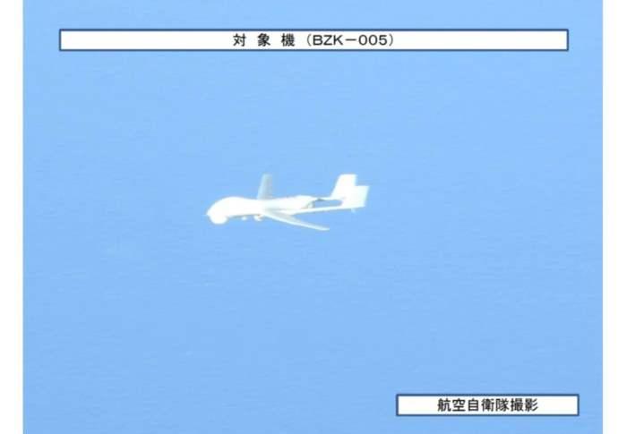 Японские самолеты, Китай, дроны, беспилотники,