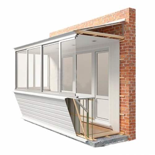 балкон, утепление балкона,