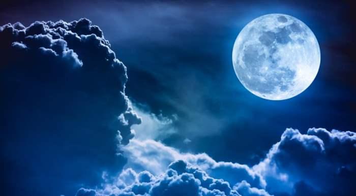 голубая луна,