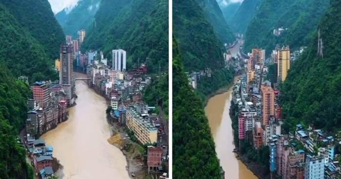 длинный китайский город