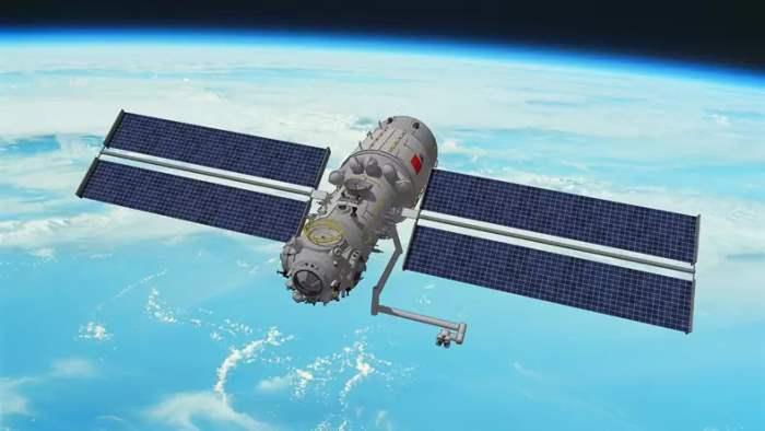 космос, Китай, станция,