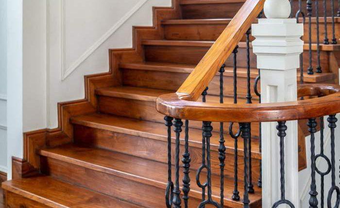 лестницы, деревянные лестницы,