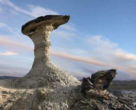необычный ландшафт, Нью-Мексико, Пустыня Бисти,