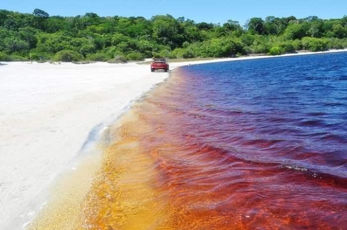озеро, кока-кола, Рио-Гранде-дель-Норте, Лагоа-да-Араракуара,