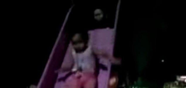 призрак, Мексика, горка, ребенок,