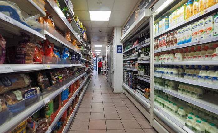 супермаркет, Великобритания,