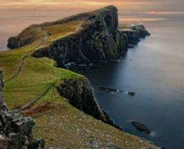 учитель, Шотландия, остров,