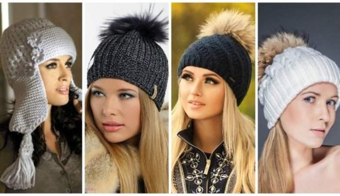 шапки, женские шапки,