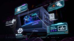 GIGABYTE представляет блок питания AORUS P1200W с большим цифровым ЖК-дисплеем