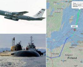 Boeing WC-135W Constant Phoenix, Балтийское море, радиация, подлодка,