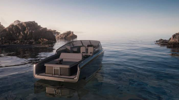 Candela C-8, лодка, электрическая лодка,