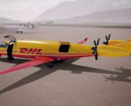 DHL, электрические самолеты,