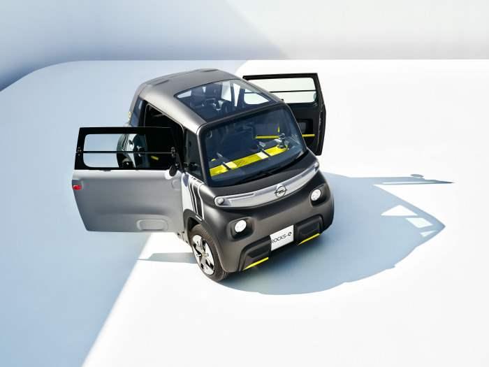 Opel Rocks, электромобиль,