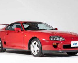 Toyota Supra, 1995, A80,