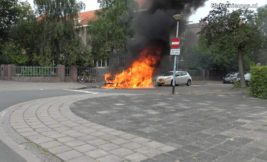 Volkswagen ID.3, пожар, электромобиль,