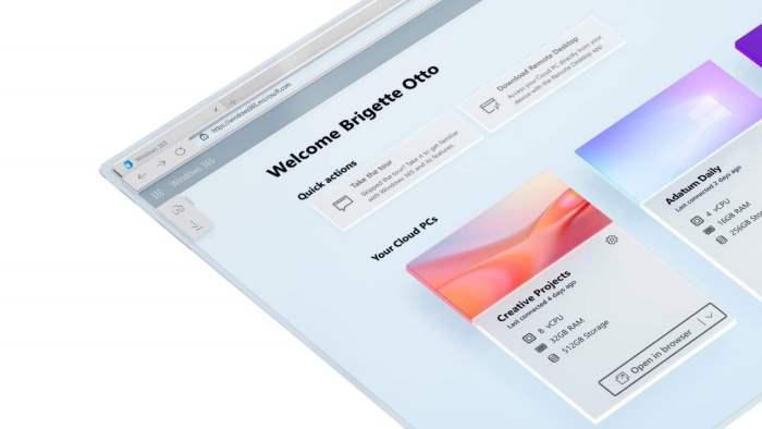 Windows 365, облачный пк, характеристики,
