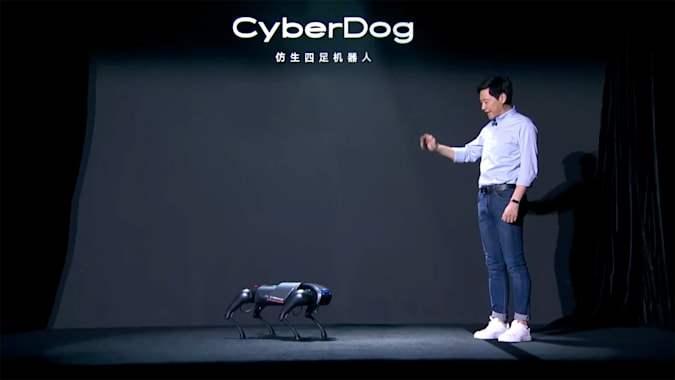 Xiaomi, робот-собака, CyberDog,