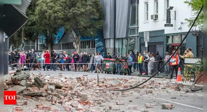 Австралия, Мельбурн, землетрясение,