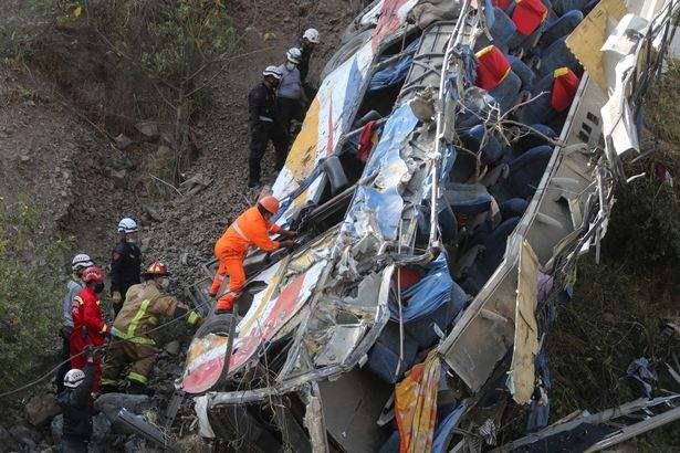 Автобус, Перу, крушение,
