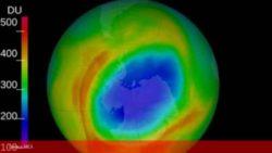 Озоновая дыра над Южным полюсом уже больше Антарктиды
