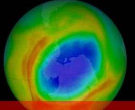 Антарктида, озоновая дыра,