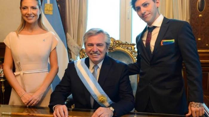 Аргентина, президент, сын, третий пол,