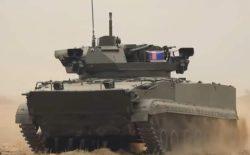 Новая боевая машина Б-19 на военных полях России