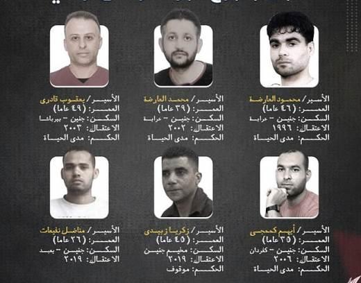 Израиль, побег, тюрьма, палестинцы,