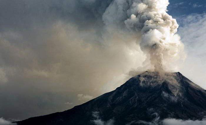 Испания, вулкан, извержение,