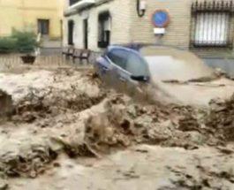 Испания, наводнения,