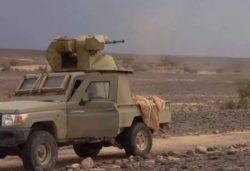 Йеменские хуситы поставили на пикап 30-мм пушку от БТР-80А