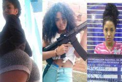 22 -летняя девушка возглавила банду головорезов в Венесуэле — это Карла Диас Тореальба с прозвищем «Волосы»